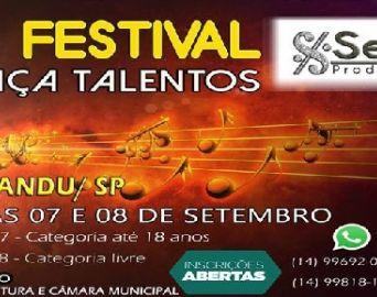 Arandu será palco do 2º Festival Caça Talentos