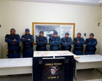 Força Tática apreende mais de mil papelotes de cocaína em Avaré