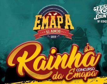Estão abertas as inscrições para o concurso Rainha da 51ª Emapa