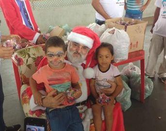 Voluntários proporcionam um Natal melhor para as famílias carentes de Avaré