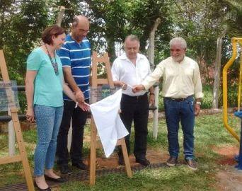 Poio entrega Academia ao ar Livre e Centro de Reabilitação