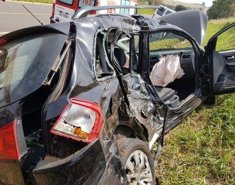 Acidente deixa feridos em rodovia que liga Avaré a Cerqueira César