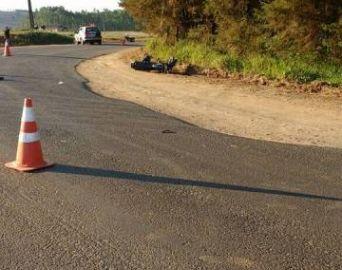 Motociclista morre após acidente na vicinal Mário Covas