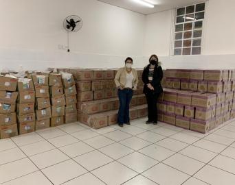 Campanha Adote Uma Família arrecada aproximadamente 750 cestas básicas