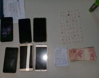 Homem com 70 pedras de crack é preso pela Polícia Civil