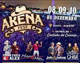 Prefeitura esclarece sobre o cancelamento do Arena Fest