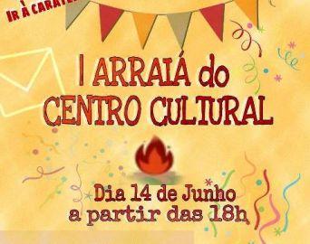 1º Arraiá do Centro Cultural será na quarta-feira, 14