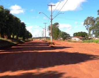 Pavimentação da Avenida Santa Bárbara poderá começar em 90 dias