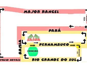 Ruas serão fechadas para a 74ª Corrida Elias de Almeida Ward