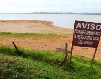 Nível da Represa de Jurumirim continua baixando