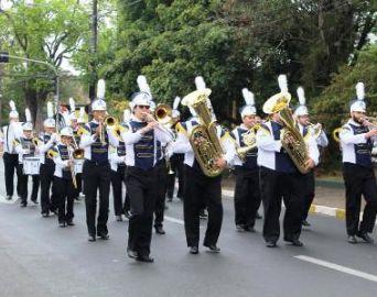Banda Marcial e Coral Municipal se apresentam hoje