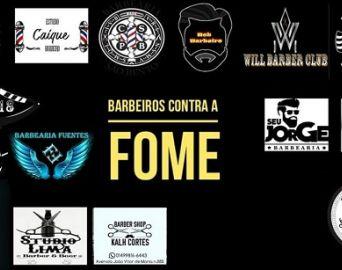 Barbeiros de Avaré se unem em campanha contra a fome
