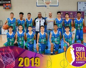 Secretaria comemora desempenho do basquete em Copa Sul-americana
