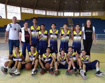 Basquete avança em duas categorias nos Jogos Escolares de São Paulo