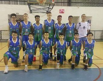 Jogando em casa, basquete Sub-15 de Avaré vence Bauru