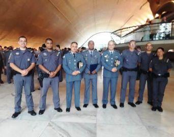 53º Batalhão PM recebe certificado em São Paulo