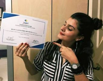 Estudante de jornalismo vence concurso de redação