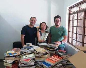 Cultura conquista mais de mil livros para a biblioteca ramal