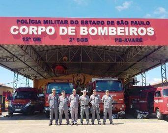 Bombeiros de Avaré auxiliarão nas buscas por pessoas em Santos