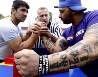 Centro Cultural recebe evento de luta de braço