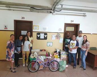 Alunos da Escola Coronel João Cruz participam do Projeto Natal Solidário