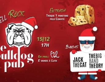 Bulldog Pub promove o Jingle Bell Rock no domingo, 15