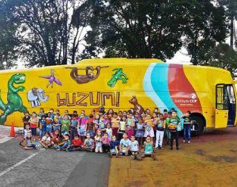 BuZum! chega em Avaré com o espetáculo Curumim trazendo lendas indígenas