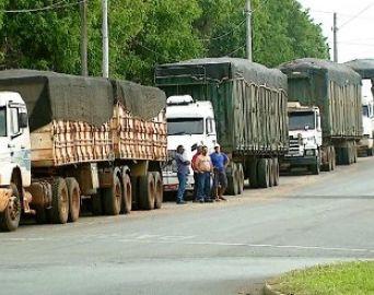 Caminhoneiros transportadores de laranja iniciam paralisação