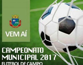 Municipal de Futebol terá início no dia 24