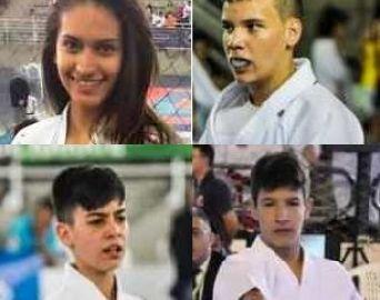 Caratecas de Avaré e Arandu estão nas finas do Brasileiro de Karate