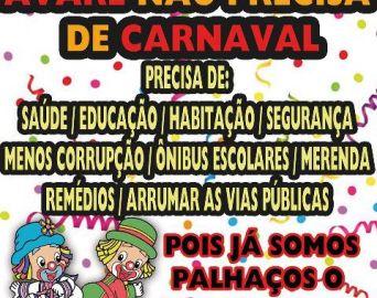 Governo Jô enfrenta polêmica de fazer ou não o Carnaval