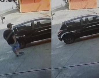 Polícia recupera carro furtado no centro de Avaré