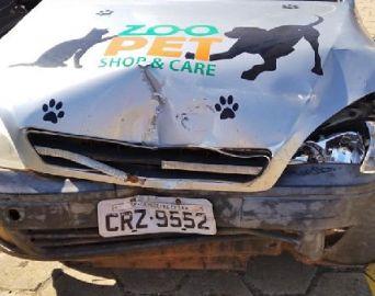Acidente com carro impede Ong de socorrer animais em Avaré