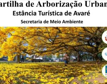 Cartilha sobre arborização urbana está disponível no site da Prefeitura
