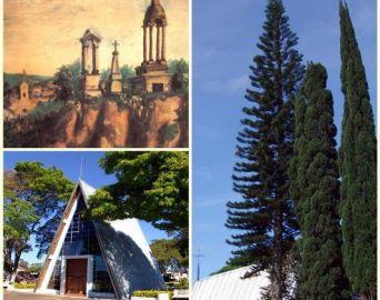 Os cemitérios de Avaré e da antiga Rio Novo