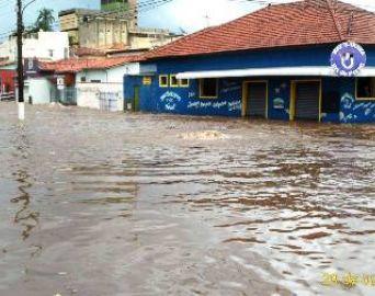 Prefeitura faz levantamento dos estragos da chuva