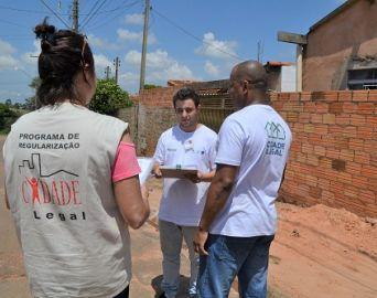 Programa estadual conclui cadastro de imóveis na Vila Esperança