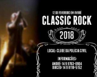 Segunda de Carnaval tem Classic Rock em Avaré