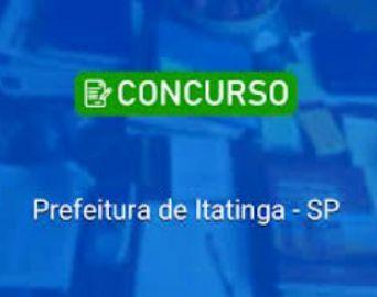 Prefeitura de Itatinga realizará concurso público