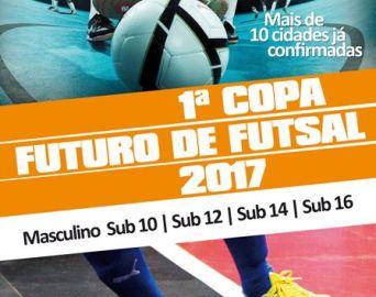 Secretaria de Esportes promoverá a 1ª Copa Futuro de Futsal