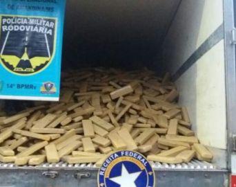 Avareenses são presos com 7 toneladas de maconha no MS