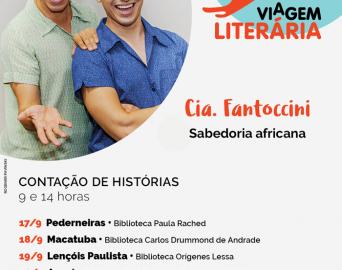 Avaré é selecionada entre 70 cidades para sediar o Viagem Literária 2018