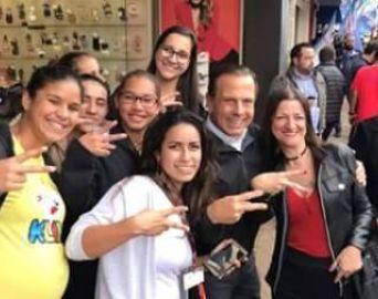 Candidato ao governo de SP, João Doria fez campanha em Avaré