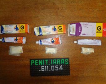 Agentes encontram cocaína em tubos de pomada na Penitenciária de Iaras