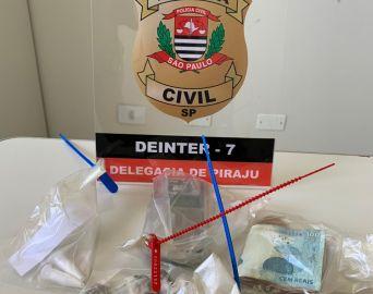 Dupla é presa nas proximidades de creche por tráfico de drogas
