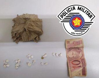 Traficante é preso no Bonsucesso após ser flagrado com drogas