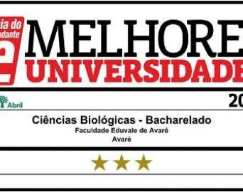 Faculdade Eduvale aparece entre as melhores do Brasil