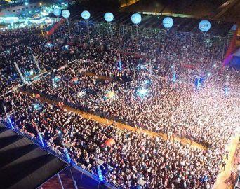 Mais de 20 mil pessoas assistiram Luan Santana na abertura da 50ª Emapa