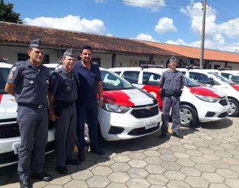 Cidades da região ganham novas viaturas policiais