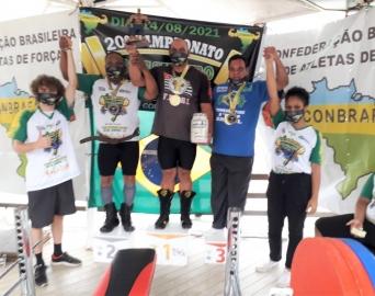 Atleta avareense Jair Neves vence campeonato de supino no Rio de Janeiro